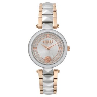 Versus Versace Ladies' Two Tone Steel Bracelet Watch - Product number 8391408