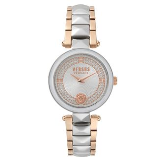 Versus Versace Ladies' Two Tone Steel Bracelet Watch - Product number 8391416