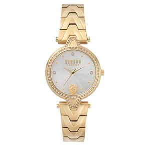 Versus Versace Ladies' Gold Plated Bracelet Watch - Product number 8391475