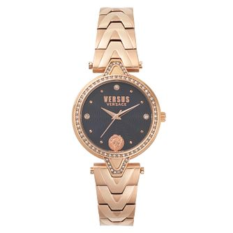 Versus Versace Ladies' Rose Gold Plated Bracelet Watch - Product number 8391491