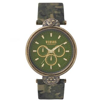 Versus Versace Ladies' Camouflage Leather Strap Watch - Product number 8391548