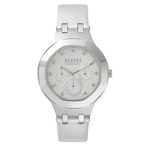 Versus Versace Ladies' White Leather Strap Watch - Product number 8391580