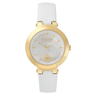 Versus Versace Ladies' White Leather Strap Watch - Product number 8391645