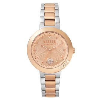 Versus Versace Ladies' Two Tone Steel Bracelet Watch - Product number 8391696