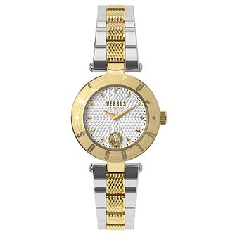 Versus Versace Ladies' Two Tone Steel Bracelet Watch - Product number 8391815
