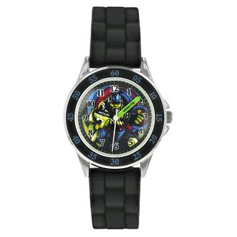 Disney Hulk Children's Black Rubber Strap Watch - Product number 8391920