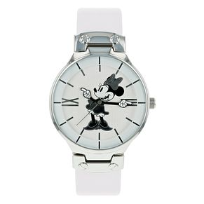 Disney Minnie Mouse White PU Strap Watch - Product number 8391955