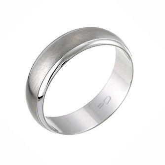 palladium 950 matt polished wedding ring product number 8392994 - Wedding Ring Pics