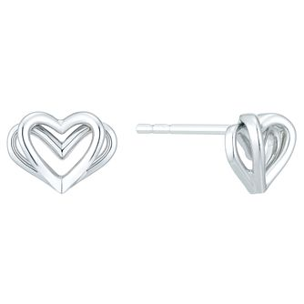Vera Wang Kindred Heart Sterling Silver Earrings - Product number 8395322