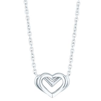 Vera Wang Kindred Heart Sterling Silver Necklace - Product number 8395462