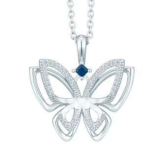Vera Wang Kindred Heart Diamond Butterfly Pendant - Product number 8395470