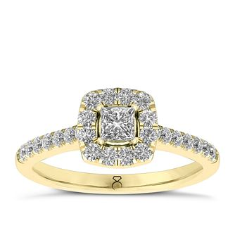 The Diamond Story 18ct Yellow Gold 0.66ct Diamond Ring - Product number 8399212