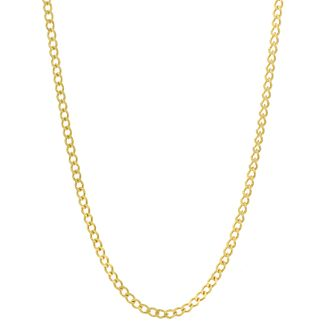 9ct Yellow Gold 20 Inch Curb Chain 100G - Product number 8404275