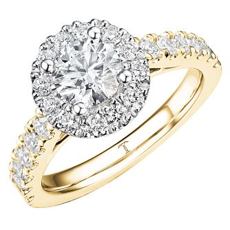 Tolkowsky 18ct Yellow Gold 1.50ct Diamond Ring - Product number 8411905