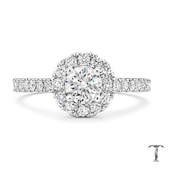 Tolkowsky Platinum 1.50ct Diamond Ring - Product number 8412561