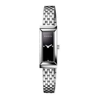 Gucci ladies' black & diamond watch - Product number 8415242