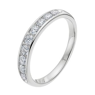 Tolkowsky Platinum 0.25ct I-I1 Diamond Ring - Product number 8416915
