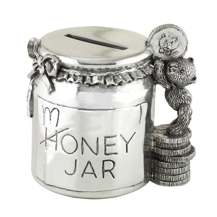 Royal Selangor pewter money box jar - Product number 8423296