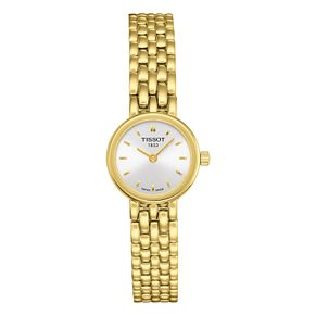 Tissot Lovely Ladies' Yellow Gold Plated Bracelet Watch - Product number 8424268