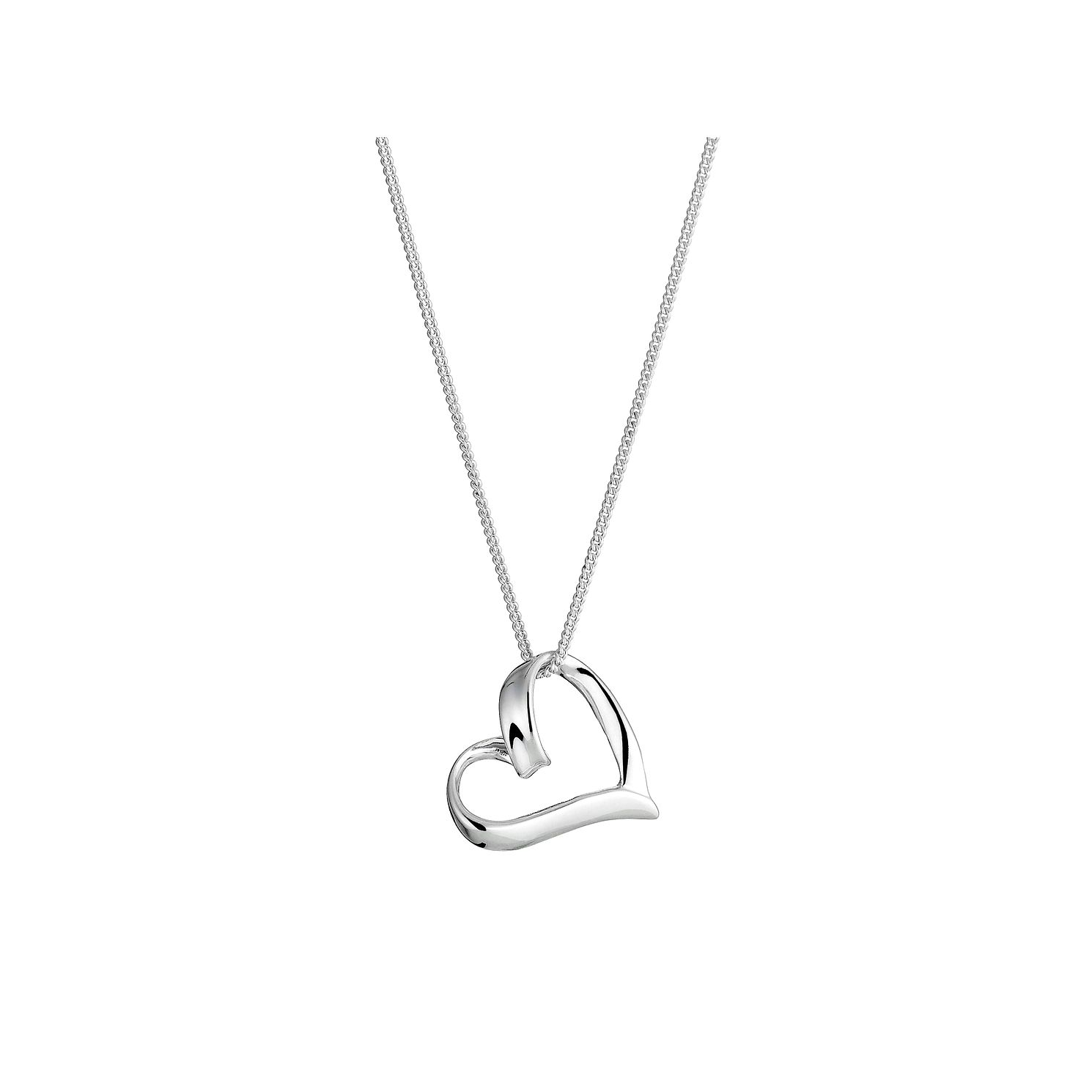 Sterling silver heart pendant hmuel sterling silver heart pendant product number 8431590 in stock mozeypictures Gallery