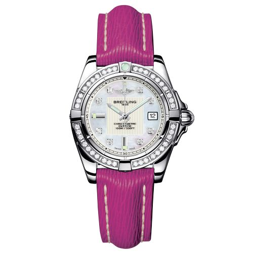 Breitling Galactic 32 ladies' diamond strap watch - Product number 8468893