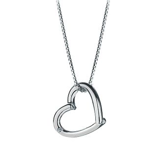 Hot Diamonds Sterling Silver Heart Pendant - Product number 8521190