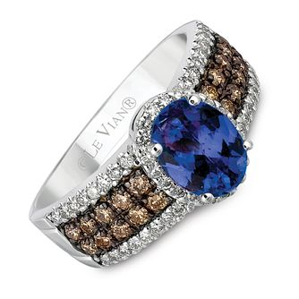Le Vian 14ct gold diamond & Blueberry Tanzanite ring - Product number 8538433