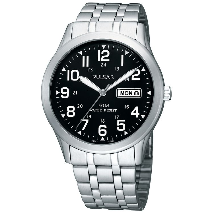 Pulsar Men's Stainless Steel Bracelet Watch - Product number 8588341