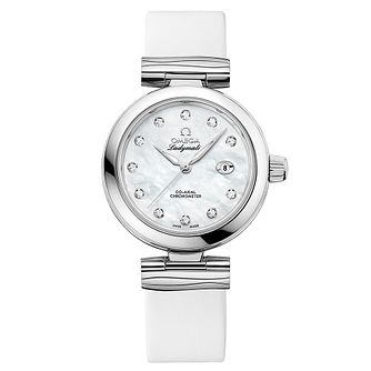 Omega Ladymatic Ladies' Stainless Steel Diamond Watch - Product number 8588899