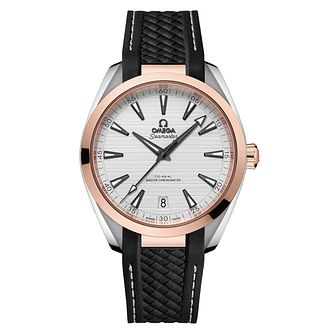 Omega Seamaster Aqua Terra Men's Two Colour Strap Watch - Product number 8588929