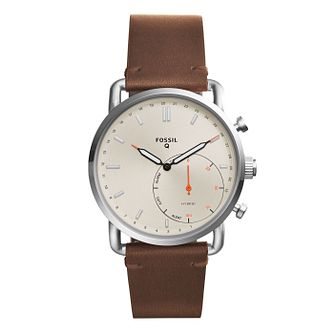 Fossil Q Commuter Men's Stainless Steel Hybrid Smartwatch - Product number 8590281