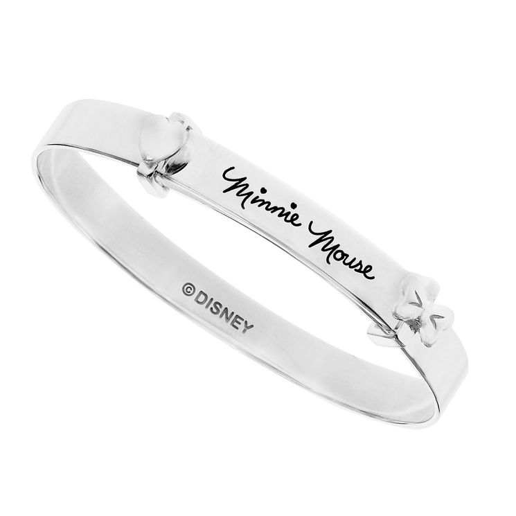 Disney Children's Minnie Mouse Silver Expander Bangle - Product number 8590591