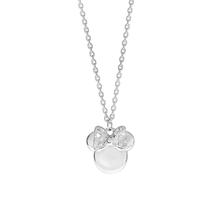 Disney Children's Minnie Mouse Sterling Silver Pendant - Product number 8590796