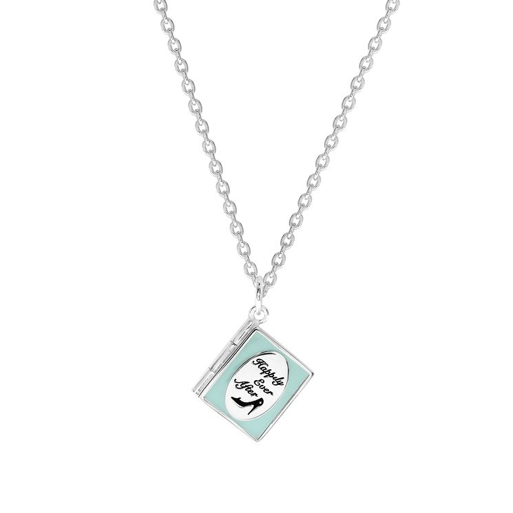 Disney Children's Cinderella Sterling Silver Book Pendant - Product number 8591202