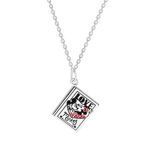 Disney Children's Mickey Mouse Sterling Silver Book Pendant - Product number 8591229