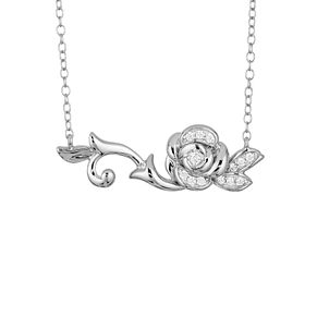 Enchanted Disney Fine Jewelry Diamond Belle Necklet - Product number 8593205