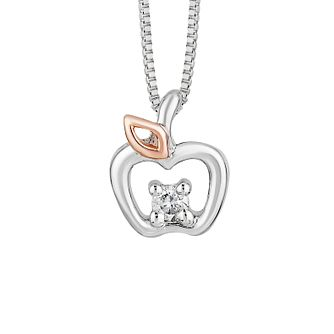 Enchanted Disney Silver & Diamond Snow White Pendant - Product number 8593256