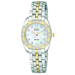 Citizen Eco-Drive Ladies' Two Tone Bracelet Watch - Product number 8595151