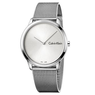 Calvin Klein Ladies' Stainless Steel Mesh Bracelet Watch - Product number 8599564