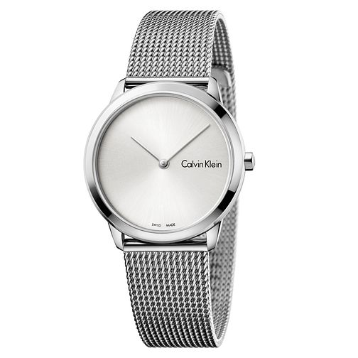 Calvin Klein Ladies' Stainless Steel Mesh Bracelet Watch - Product number 8599580