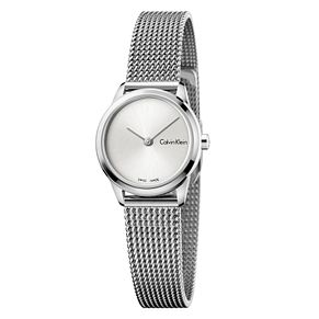 Calvin Klein Ladies' Stainless Steel Mesh Bracelet Watch - Product number 8599602