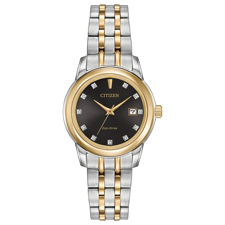 Citizen Eco-Drive Ladies' Stainless Steel Bracelet Watch - Product number 8600155
