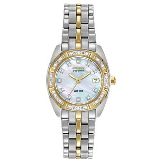 Citizen Eco-Drive Ladies' Stainless Steel Bracelet Watch - Product number 8600252