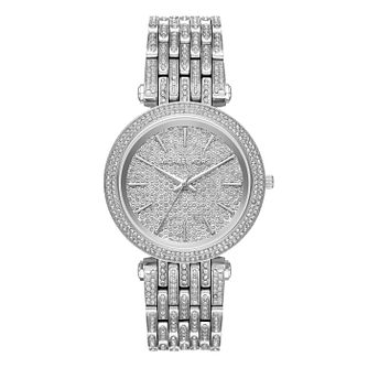Michael Kors Darci Ladies' Stainless Steel Stone Set Watch - Product number 8600473