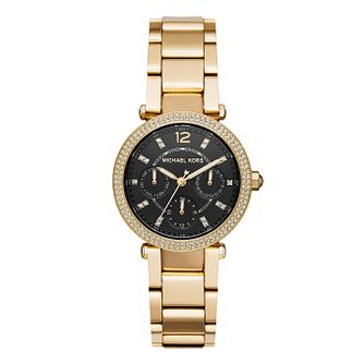 Michael Kors Parker Ladies' Yellow Gold Tone Bracelet Watch - Product number 8600732