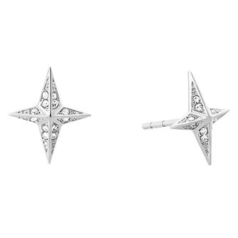 Michael Kors Starburst Ladies' Stainless Steel Stud Earrings - Product number 8600953