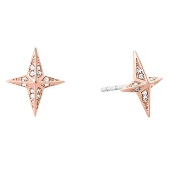 Michael Kors Starburst Ladies' Rose Gold Tone Earrings - Product number 8600961