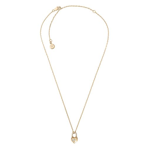 Michael Kors Ladies' Yellow Gold Tone Heart Pendant - Product number 8601119