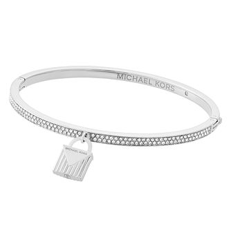 Michael Kors Ladies' Stainless Steel Bag Bangle - Product number 8601208