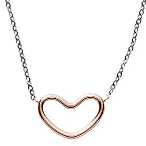 Skagen Katrine Ladies' Two Colour Heart Necklace - Product number 8601305